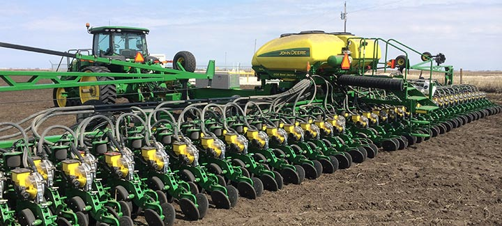 Stine Shifts All Research Planters to Twin 20s System