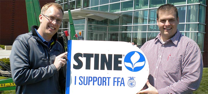 Stine Supports FFA With Seed Donation